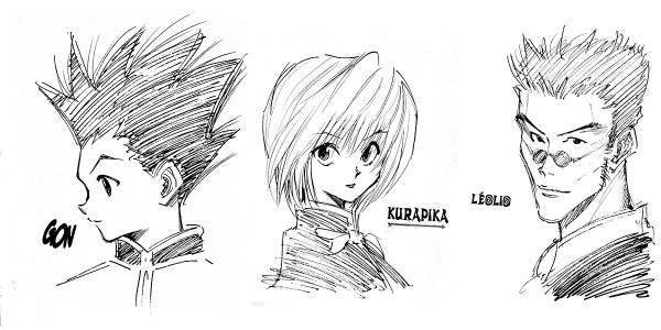 comment dessiner hunter x hunter