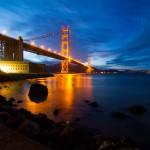 Golden Gate Bridge from Fort Point #2 et #3